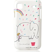 Elephant Bathing  PC Hard Case for Samsung S2/I9100
