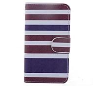 Streifen-Muster Ganzkörper-Fall mit Standplatz für iphone 4 / 4s (farblich sortiert)