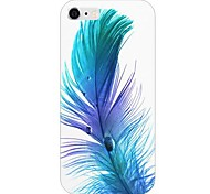 Feather Pattern Back Case for iPhone 6