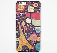 The Tower Pattern PC Leather Back Cover Case for iPhone 6