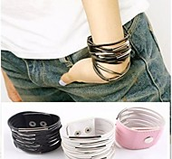 Exaggerated Personality Exquisite Gift Multi-layer Leather Bracelet