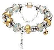 Light Color Charm Bracelet for Valentine and Christmas Gift