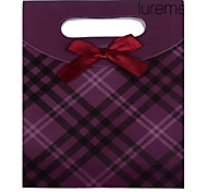 Lureme®Paper Made Purple Gift Box