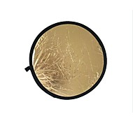 80cm 2 in 1 Gold Silver Illuminator Reflector (Gold)