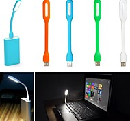 USB LED Laptop PC Notebook Light Lamp Plastic Flexible Low Power Light(Assorted Colors)