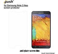 hohe Transparenz matte LCD Screen Protector mit Reinigungstuch für Samsung-Galaxie Anmerkung3 neo