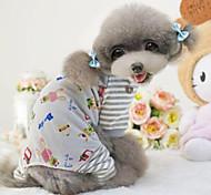 suave cachemir espesar pantalones a rayas baratos trajes de mascotas perro invierno ropa ropa de algodón de colores surtidos