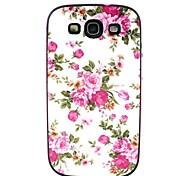motif de fleurs de couverture de cas pour les Samsung Galaxy S i9300