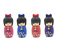 4gb artoon japonés muñeca usb 2.0 flash drive pluma color al azar