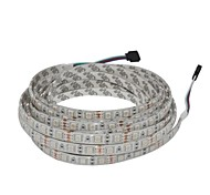 5M 300x5050 SMD RGB Waterproof LED Flexible Strip DC12V+24Keys IR Controller