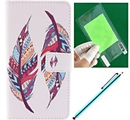 Double Feather Design PU Leather Full Body Case for Sony Sony Xperia Z3
