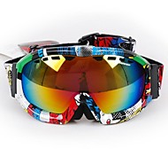 Wind Dust Protection Anti UV Colorful Frame and Lens Riding Goggles Skiing Goggles