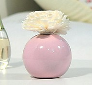 Home Decoration Aromatherapy Essential Purple Small Round Vase Oil Gift Box Diffuser