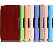 Para Funda Samsung Galaxy con Soporte / Flip / Origami / Magnética Funda Cuerpo Entero Funda Un Color Cuero Sintético Samsung Tab S 10.5