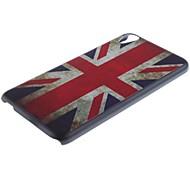 caso duro britannico modello di bandiera pc e supporto del telefono per HTC Desire 820