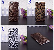 Leopard Pattern Plastic Hard Case for iPhone 6(Assorted Colors)