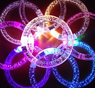 RGB LED Flashing Bracelet Design Acrylic Party LED Light Stick(Random Color x1pcs)