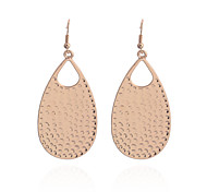 Vintage Drops Of Water Wave Point Drop Earrings