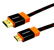 1.8M 5.904FT HDMI V1.4 Male to Mini HDMI Male High Speed Gold-Plated Computer TV Connection Cable Support 3D