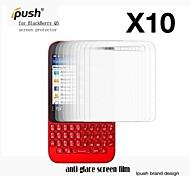 Protector de pantalla mate de alta transparencia para q5 blackberry (10 piezas)