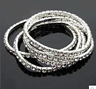 Elastic Shine Bright Single Diamond Bracelet