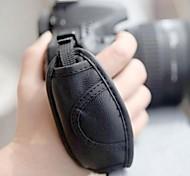 correa de cuero genuino universal para Canon Nikon / Pentax / Sony / Panasonic / fuji cámaras