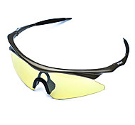 Sunglasses Men / Women / Unisex's Classic / Sports / Fashion / Sunglass Style Wrap Black Cycling Half-Rim