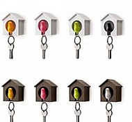 Single Sparrow House Key Chain Holder Boxed Random Color