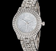 Women's Diamond Dial Diamante Alloy Band Quartz Wrist Watch (Assorted Colors) Cool Watches Unique Watches