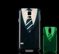 Kleidung Muster im Dunkeln leuchten Hartschalenetui für Samsung Galaxy i9600 s5
