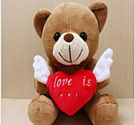 Unisex The New Recording Angel Wings Loving Teddy Bear Plush Toy