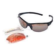 Occhiali da sole maschi / donne / Unisex's Classico / Sportivo / Di tendenza Rettangolare Nero Occhiali da sole A giorno