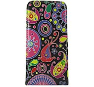 For Nokia Case Flip Case Full Body Case Flower Hard PU Leather Nokia Nokia Lumia 625