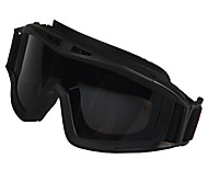 [Free Replacement Lenses] Motorcycle Explosion Proof Rubber Wrap Fashion Sports Goggles