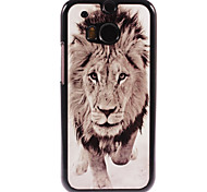 Lion Design Aluminium Hard Case for HTC M8