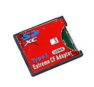 sd sdhc SDXC de alta velocidade extrema tipo cf compact flash i adaptador para 16/32/64/128 gb