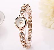 Women's   Round Diamante Dial   Drops Quartz Wristwatches  C&d213