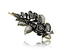 1Pc Classic Imperial Rose Hair Clip