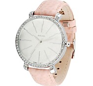 Julius® Women's Flash Leather Band Quartz Fashion Watch(Assorted Colors)