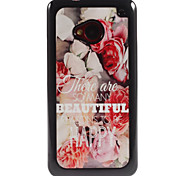 To Be Happy Design Aluminium Hard Case for HTC M7
