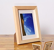 Personalized Framed Photo 8 inches Colourful Wooden Frame with Stand 1 Photo