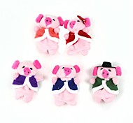 Cute Doll Story Finger Multicolored Pig Toy(5 Pcs)