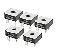 zndiy-bry br3510 1kv 35a Einphasen-Brückengleichrichter - schwarz (5 Stück)
