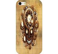 Wheel Gear Skull Pattern Back Case for iPhone 6