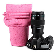 CADEN leather Camera Liner Package for Canon、Nikon 100D,600D,650D,D5200,60D,70D(16*10*21cm)