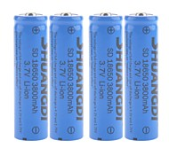 SHUANGDI® SD 3.7V 3800mAh 18650 Rechargeable Lithium Ion Battery(4pcs)