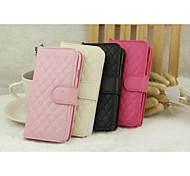 Lambskin Plaid Mobile Phone Holster for iPhone 6(Assorted Colors)
