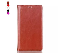 For Nokia Case Card Holder / with Stand / Flip Case Full Body Case Solid Color Hard PU Leather Nokia Nokia Lumia 930