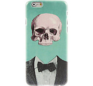 Cool Skull in Suit Design Hard Case for iPhone 6