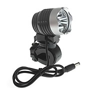 Zweihnder  Waterproof 4-Mode 3xCree XM-L2 U2  High Power Bike Light (3000LM ,4 x18650,Black)